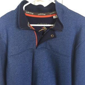 Orvis 1/4 Zip Pullover - L